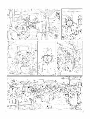 Planche 3 (crayonné) du tome 3 à venir