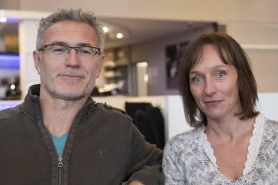 Philippe Xavier et Nathalie Sergeef © Marc Carlot