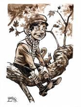 Lucas, au brou de noix