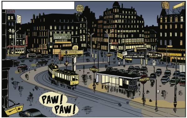 première case de Sax à paraître en 2015 © Alloing - Rodolphe / Delcourt
