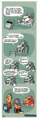 Animal Lecteur page 42 © Salma - Libon / Dupois