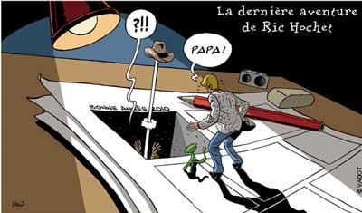Dessin pour Le Vif/L'Express du 8/1/2010