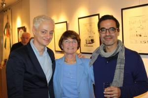 Daniel Maghen, Nicole Tibet et Vincent Odin