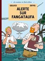 Scott Leblanc - T1: Alerte à Fangataufa, par Philippe Geluck, Devig