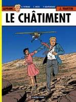 Lefranc - T21: Le Châtiment, par Patrick Delperdange, André Taymans, Erwin Drèze et Raphaël Schierer