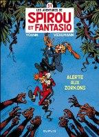 Les Aventures de Spirou et Fantasio - T51: Alerte aux Zorkons, par Fabien Vehlmann,  Yoann