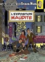 Une aventure de Simon Nian - T3: L'Exposition maudite, par , Yves Rodier