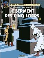 Blake et Mortimer - T21: Le Serment des cinq Lords, par Yves Sente, André Juillard