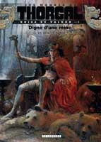 Les Mondes de Thorgal - Kriss de Valnor - T3: Digne d'une reine, par Yves Sente, Giulio De Vita