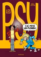 Les Psy - T19: J'ai pété les plombs !, par Raoul Cauvin, Bédu
