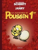 Les aventures de Poussin 1er - T1: Cui suis-je ?, par Eric-Emmanuel Schmitt, Janry