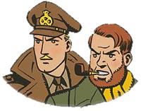 Blake & Mortimer (c) Jacobs & Editions Blake & Mortimer